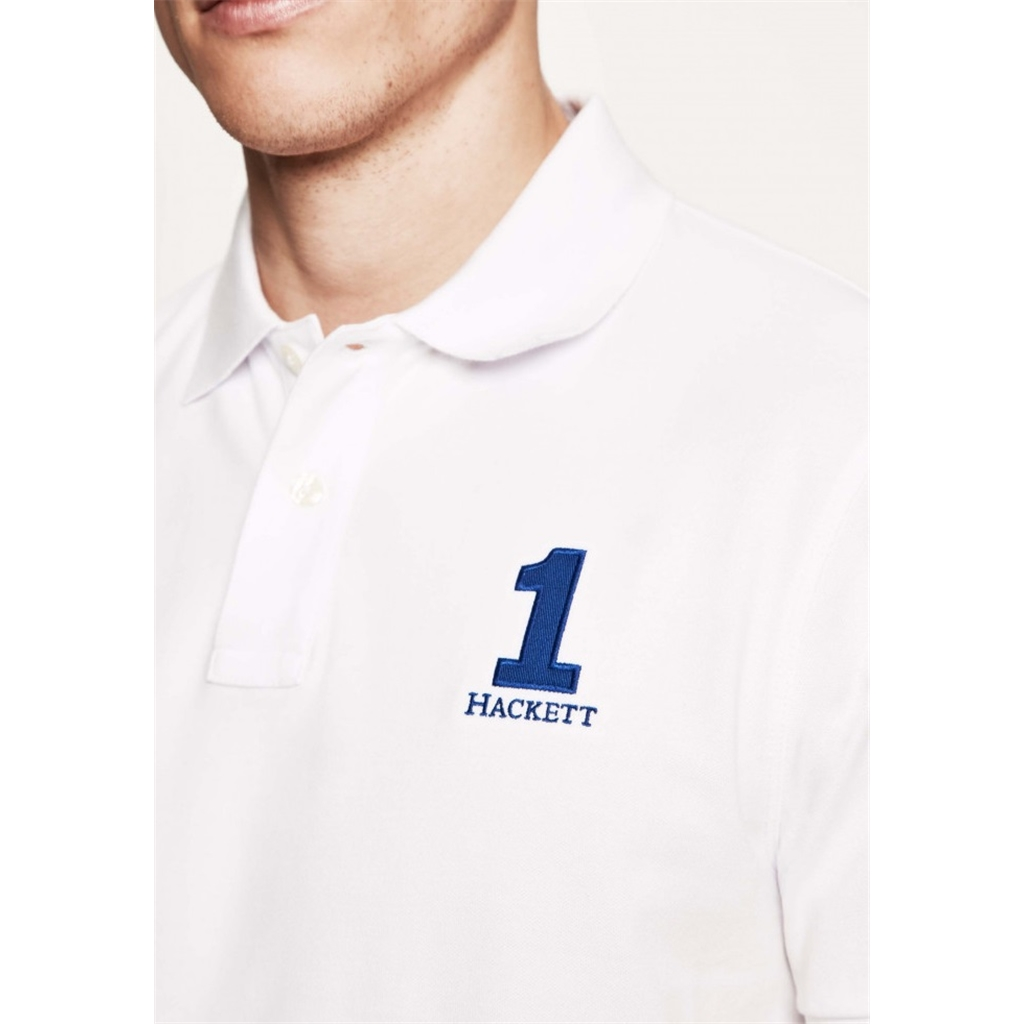 Hackett New Classic Polo - White - Size 2XL Only