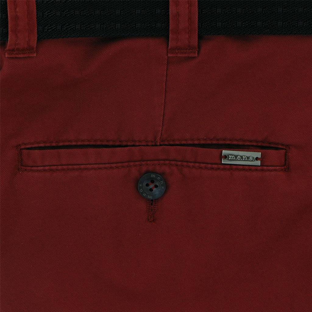 New 2018 m.e.n.s. Cotton Chino - Deep Red