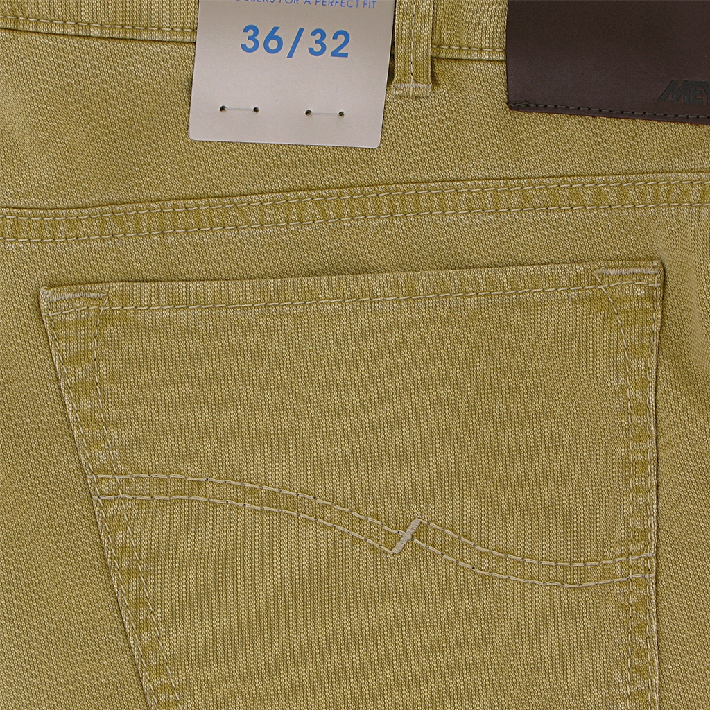 "New 2018 Meyer Textured Cotton Jean - Corn - Arizona 5004 42 - Size 36""R Only"