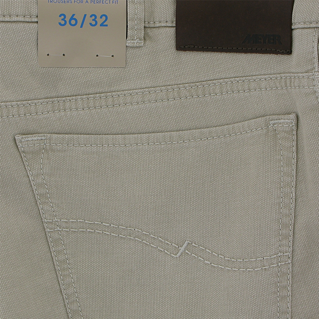 New 2018 Meyer Textured Cotton Jean - Beige - Arizona 5004 32