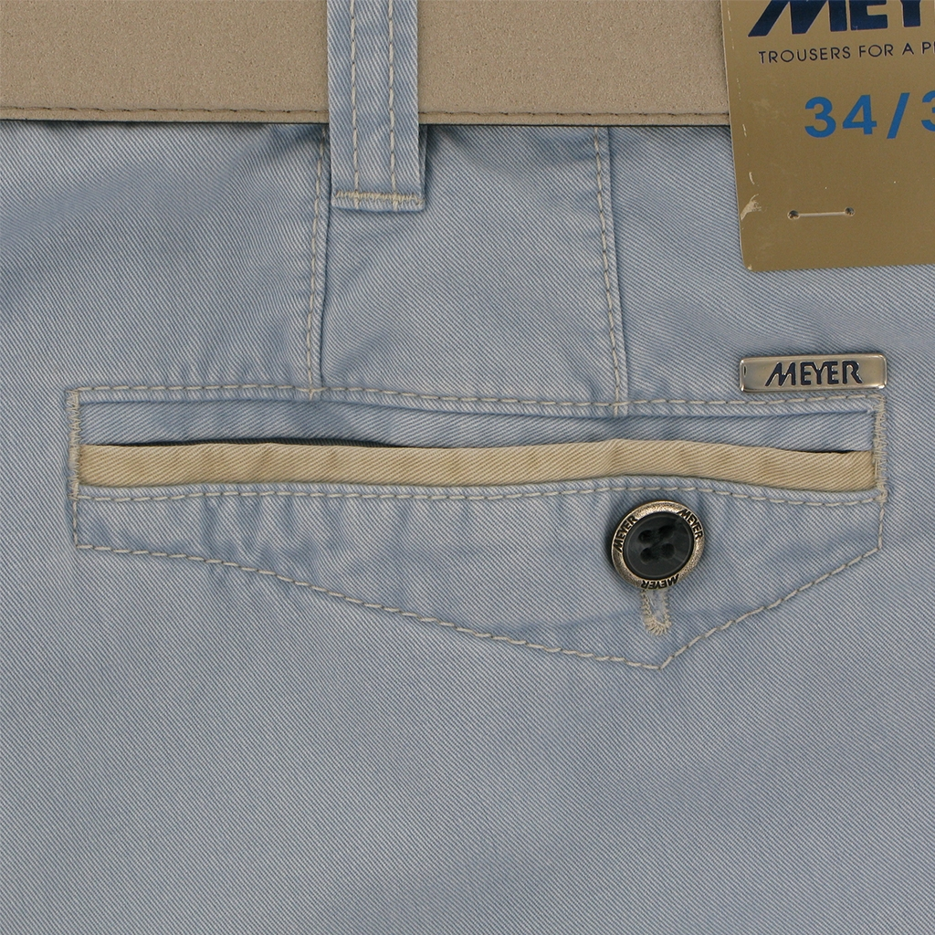 "Meyer Cargo Shorts - Sky Blue - Orlando 5001 15 - 36"" Waist Only"