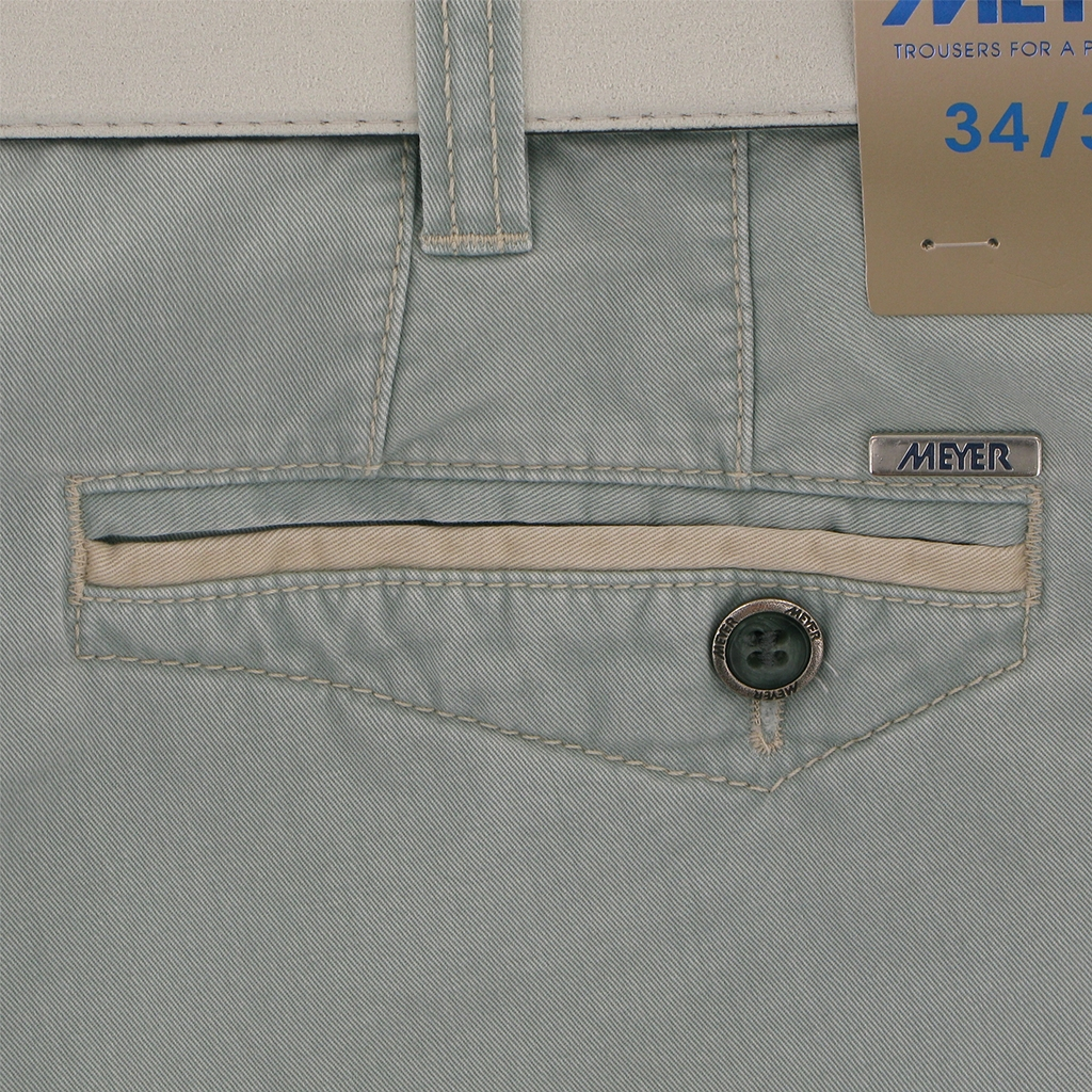 "Meyer Cargo Shorts - Mint Green - 48"" Waist Only"