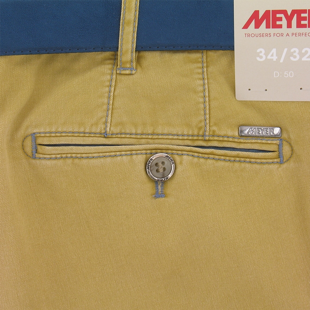 Meyer Trouser Cotton  - Maize - New York 5001 41