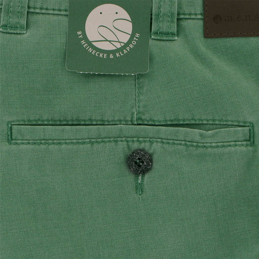 m.e.n.s. Spring Cotton Shorts - Basil
