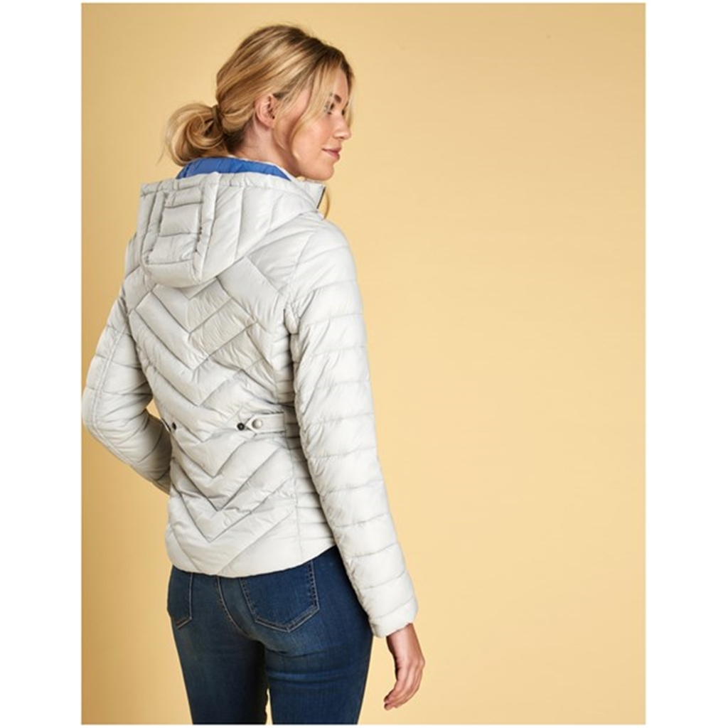 Autumn 2018 Barbour Women's Pentle Jacket - Ice White