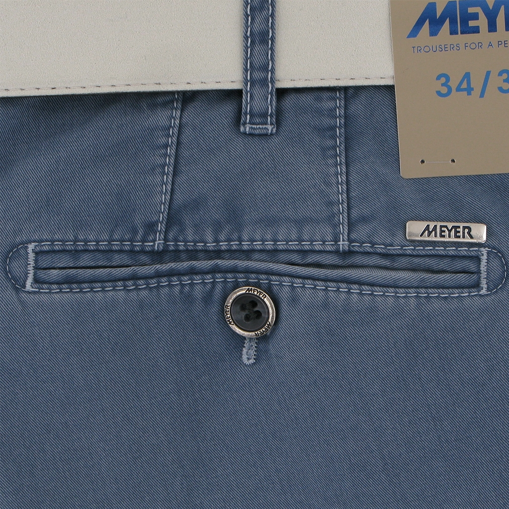 Meyer Shorts - Mid Blue