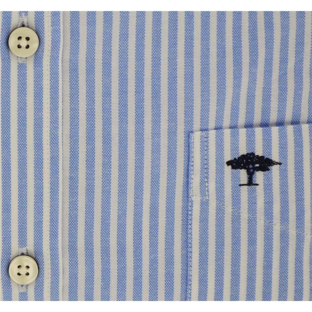 Fynch Hatton Shirt - Blue Stripe