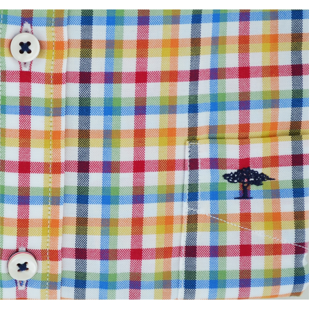 Autumn 2018 Fynch Hatton Shirt - Multicolour Check