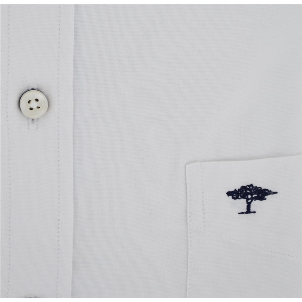 Autumn 2018 Fynch Hatton Shirt - Soft Oxford White