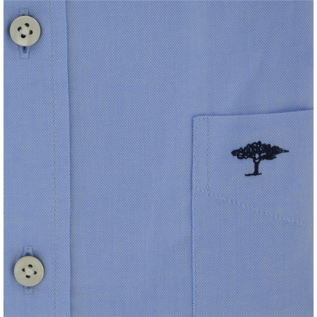 Autumn 2018 Fynch Hatton Shirt - Soft Oxford Blue