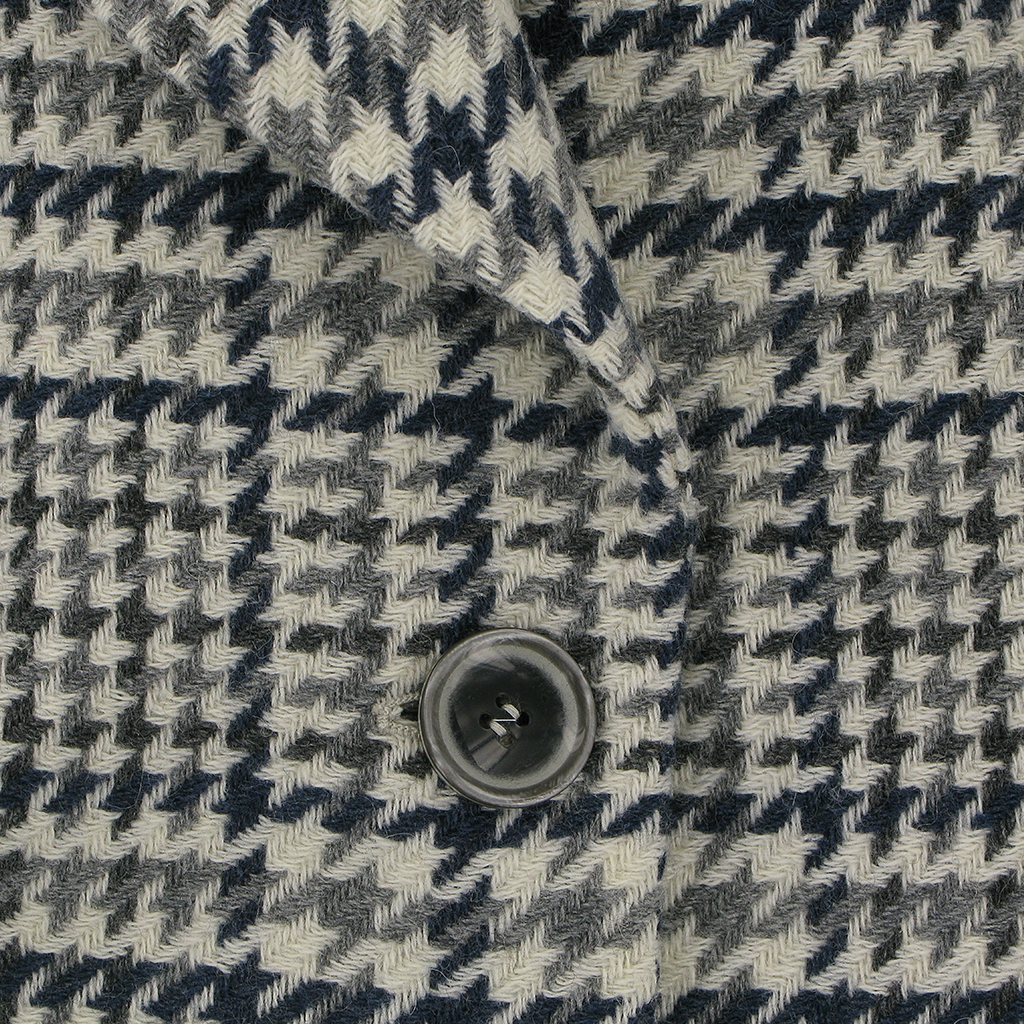 Autumn 2018 Betty Barclay Coat - Blue/Grey Check