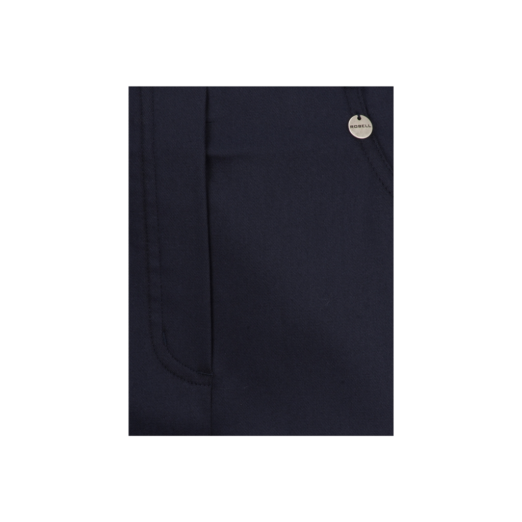 Autumn 2018 Robell Slim Fit Trousers - Navy