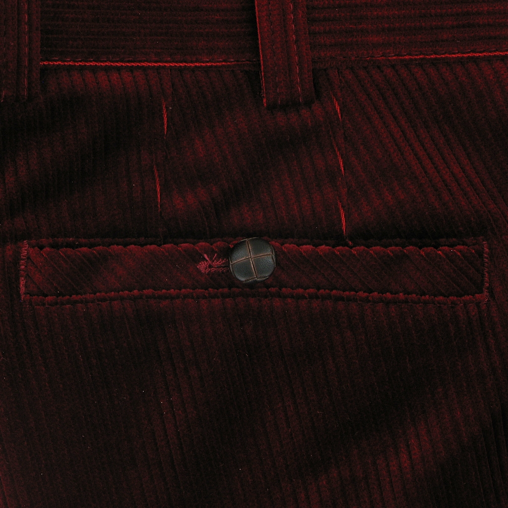 Meyer Corduroy Trouser - Bright Red - Roma 437 56