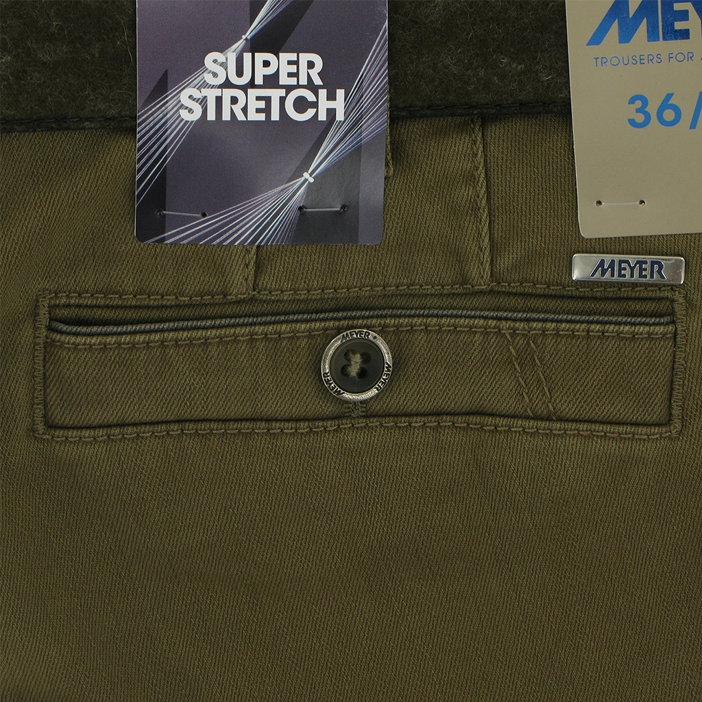 Autumn 2018 Meyer Cotton Trouser - Camel - New York 5550 44