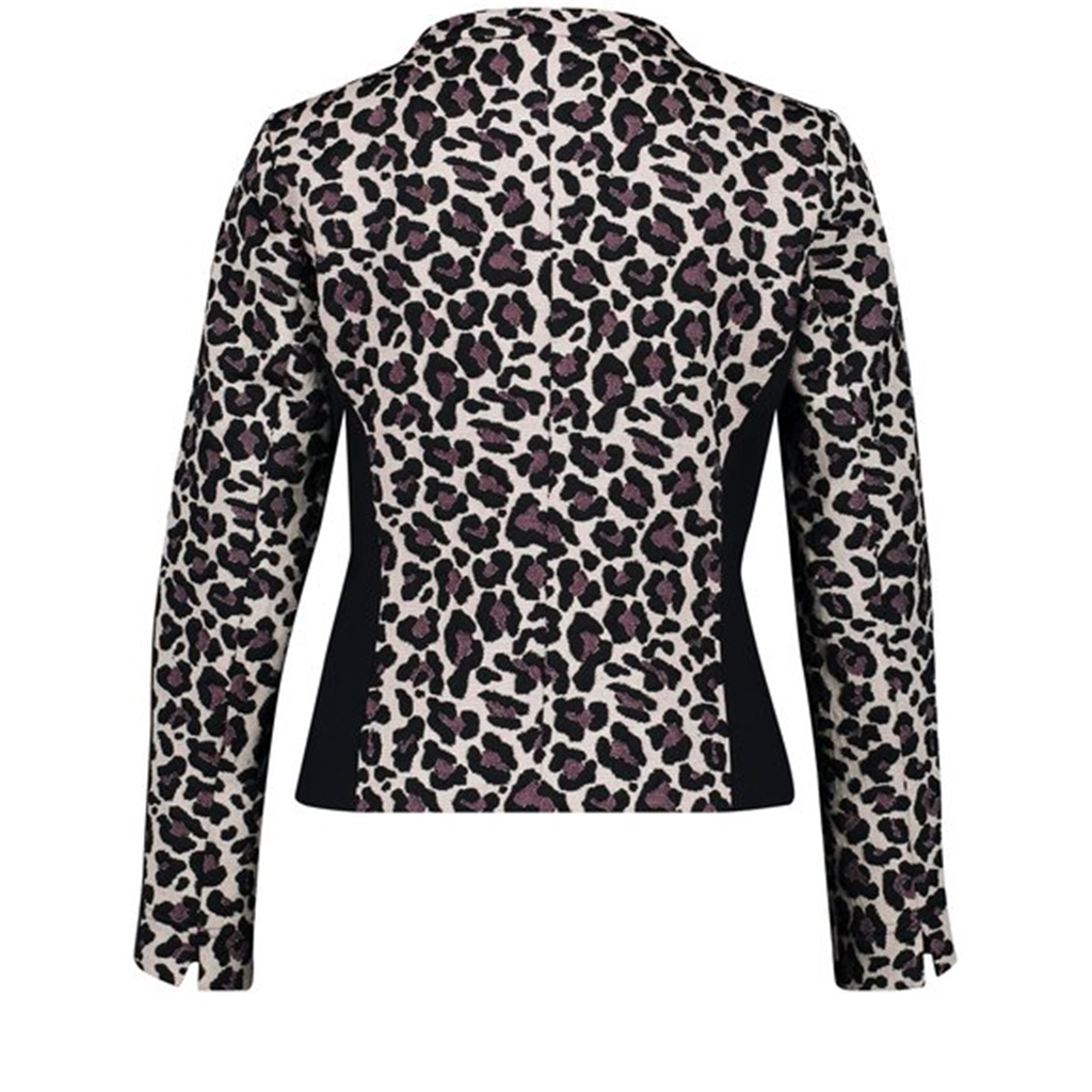 Gerry Weber Cardigan Leopard Print - Putty