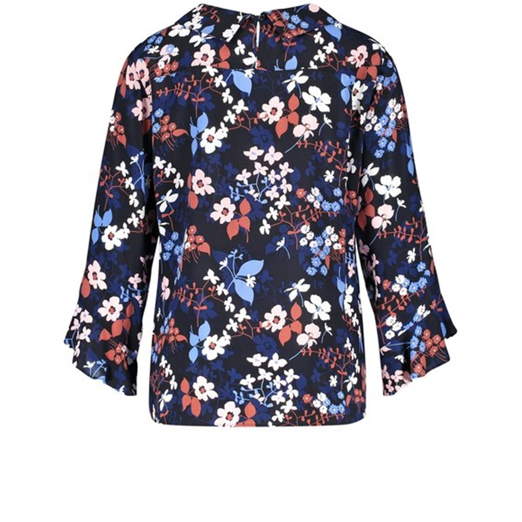 Gerry Weber Mixed Floral Blouse - Indigo
