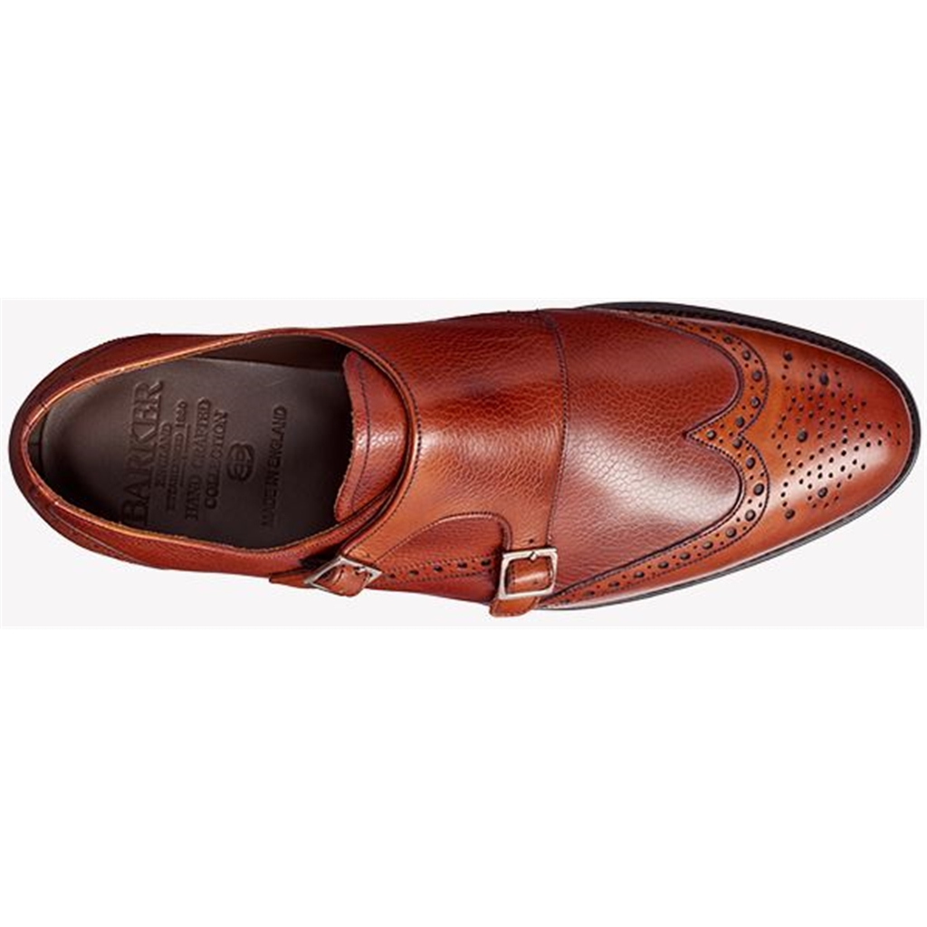 Barker Fleet - Antique Rosewood Calf / Grain