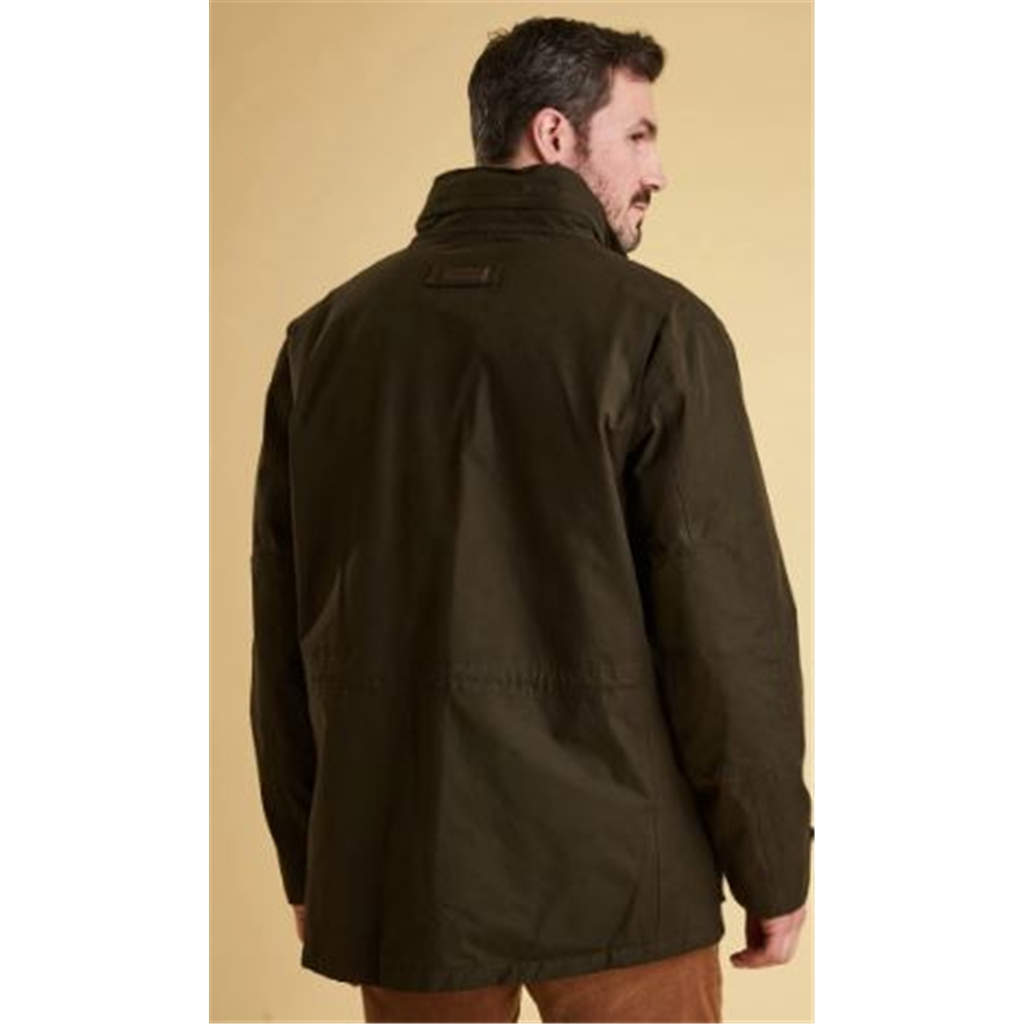 Autumn 2018 Barbour Men's Kelso Waterproof Jacket - Dark Olive