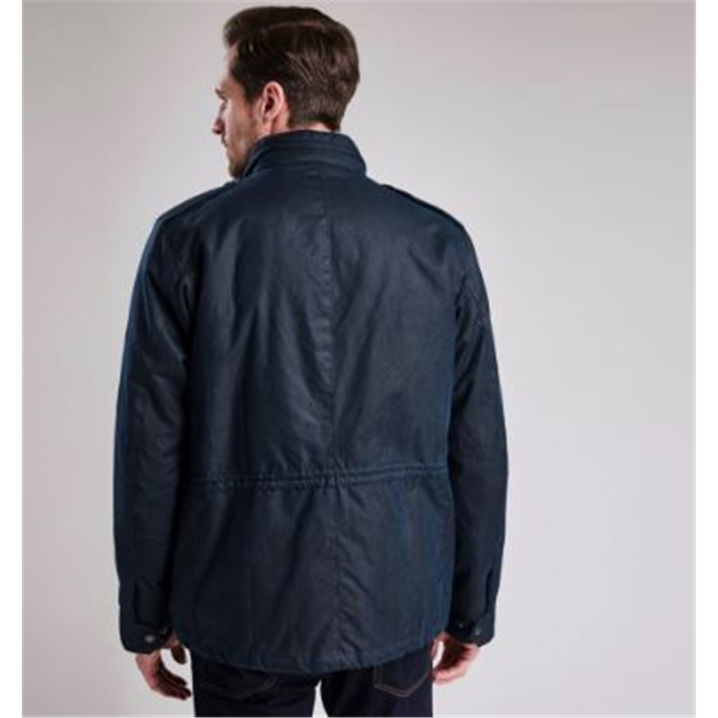 Autumn 2018 Barbour Men's Steve Mcqueen Tuscon Wax Jacket - Navy