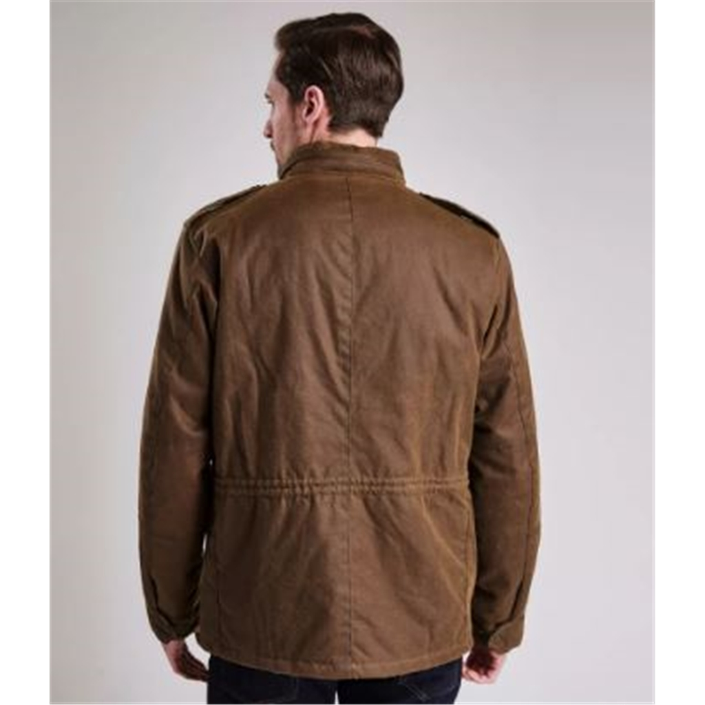 Autumn 2018 Barbour Men's Steve Mcqueen Tuscon Wax Jacket - Sand