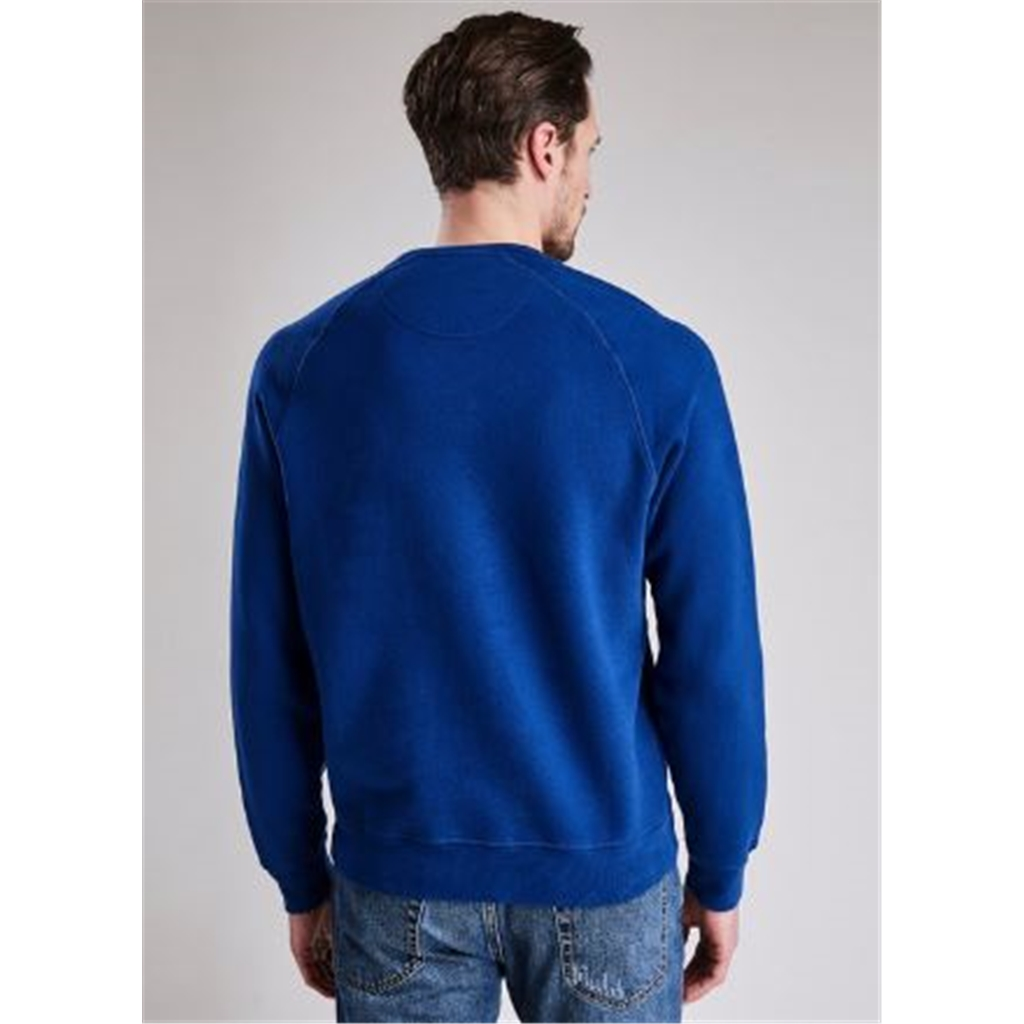 Autumn 2018 Barbour Men's Steve McQueen Voxan Crew Sweatshirt - Blue