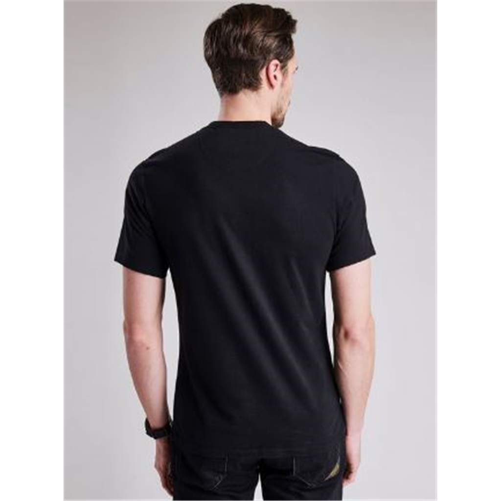 Autumn 2018 Barbour Men's Steve McQueen Paddock Tee - Black