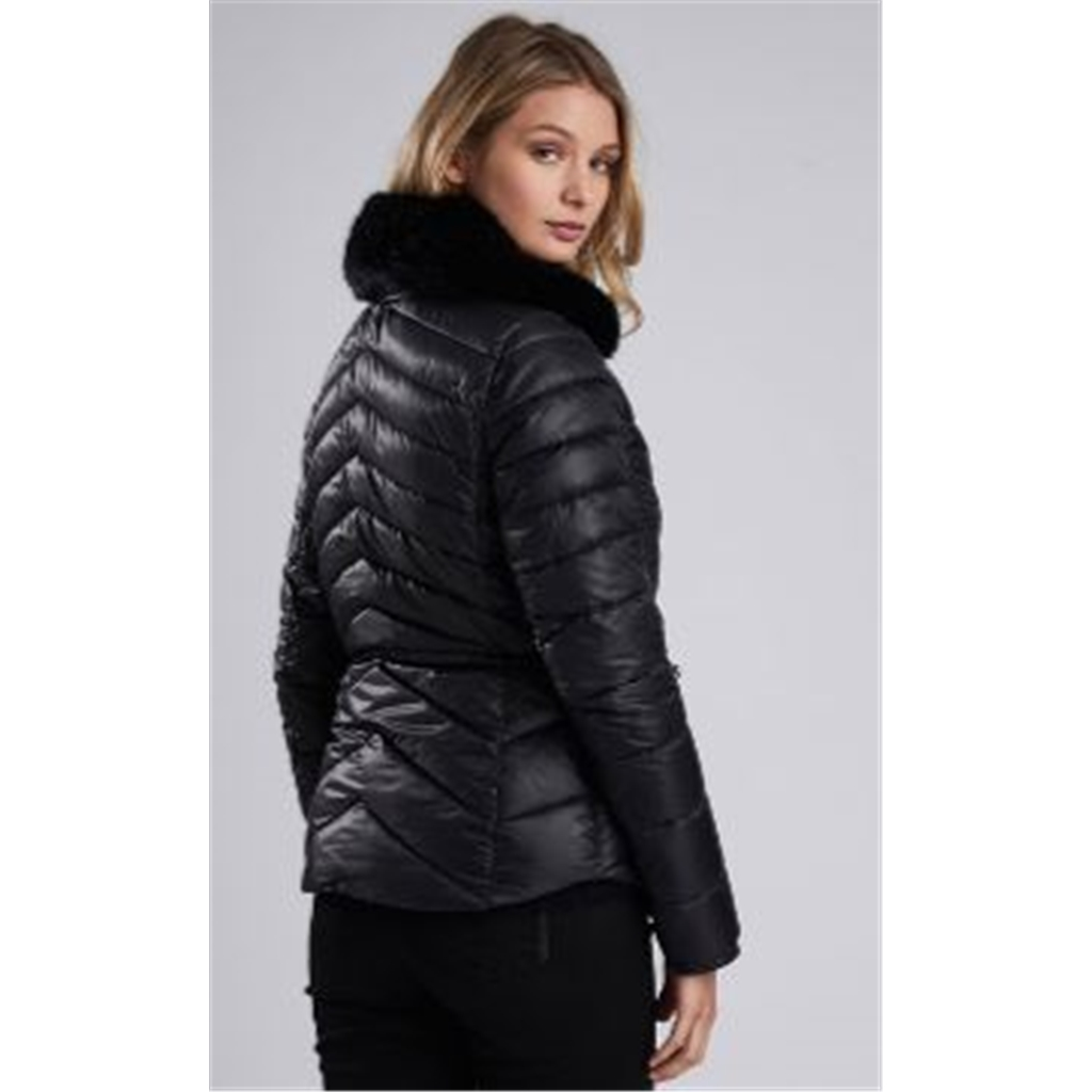 Autumn 2018 Barbour International Valencia Quilted Jacket - Black