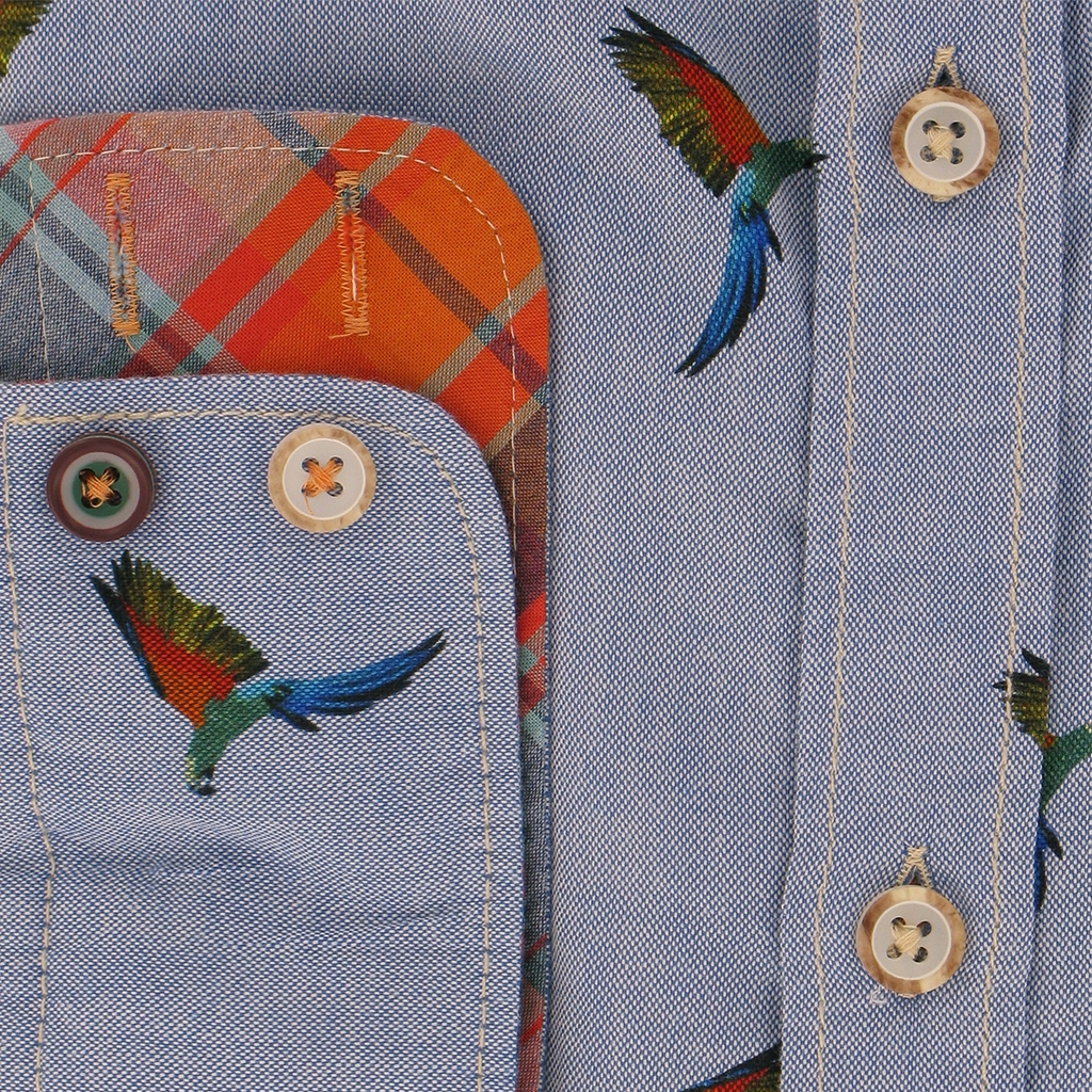 Colours & Sons Flying Parrot Shirt