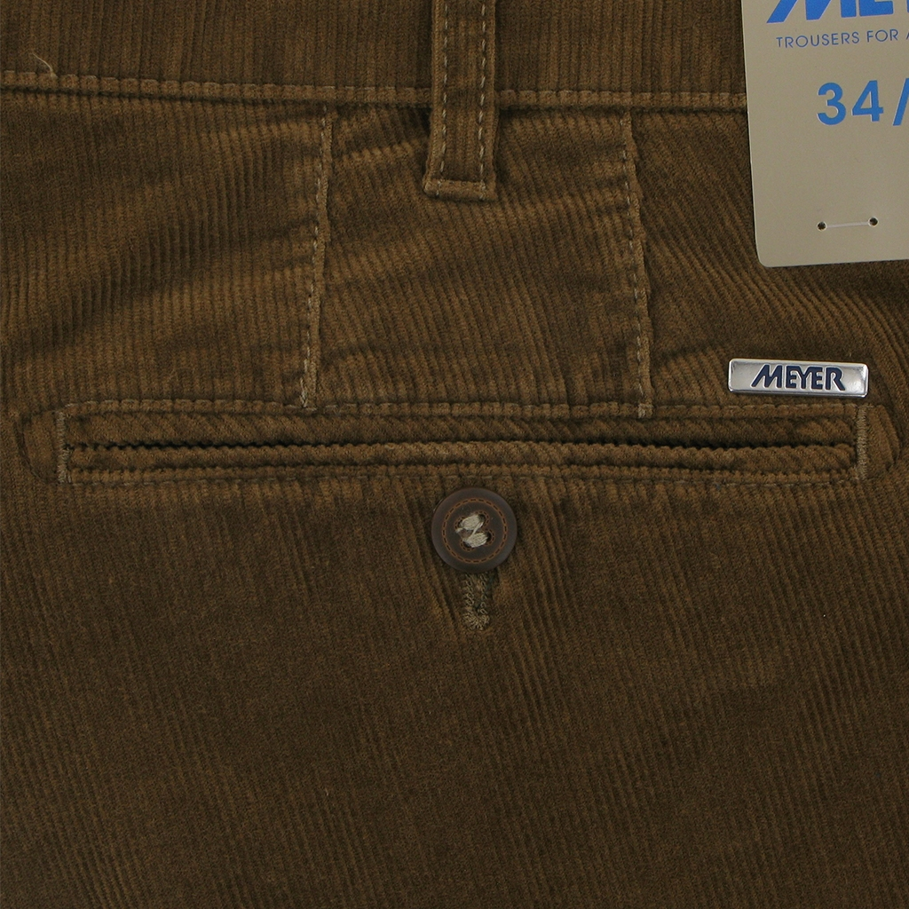 Autumn 2018 Meyer Italian Corduroy Trouser - Walnut - Bonn 3700 44