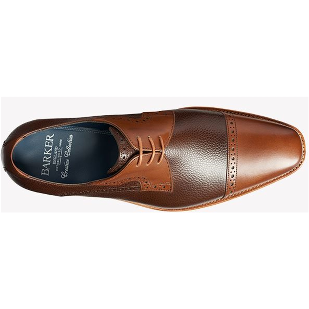 Barker Ashton - Brown Grain / Walnut Calf