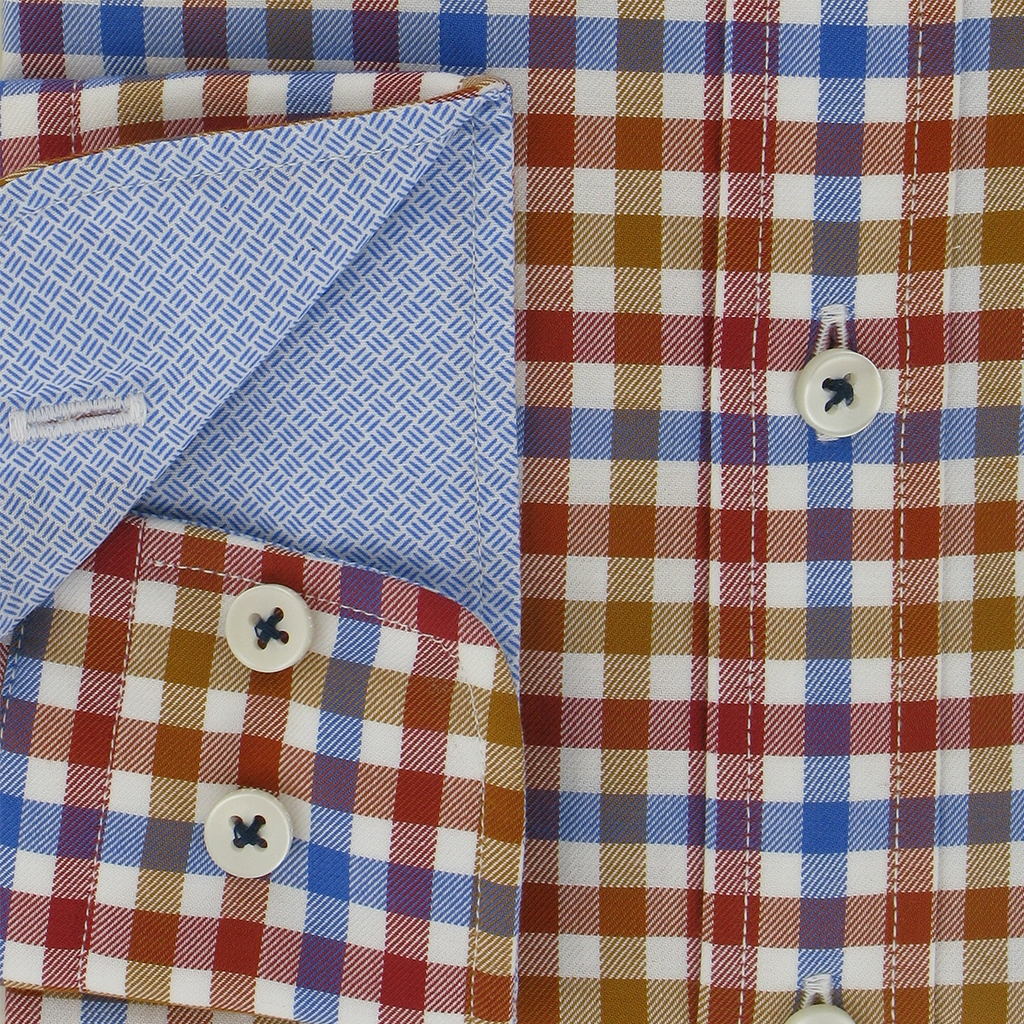Autumn 2018 Fynch Hatton Shirt - Supersoft Twill - Fox Blue