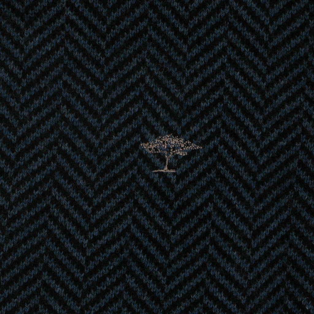Autumn 2018 Fynch Hatton Wool & Cashmere Crew Neck - Navy