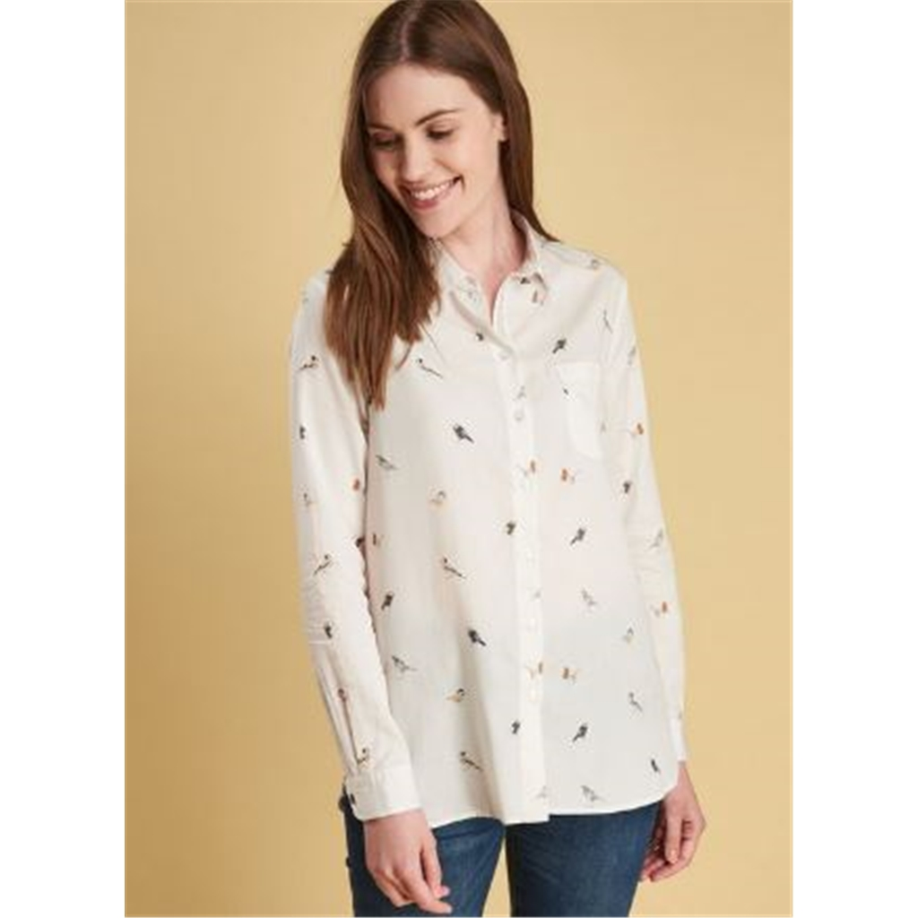 Autumn 2018 Barbour Women's Bowfell Shirt - Cloud