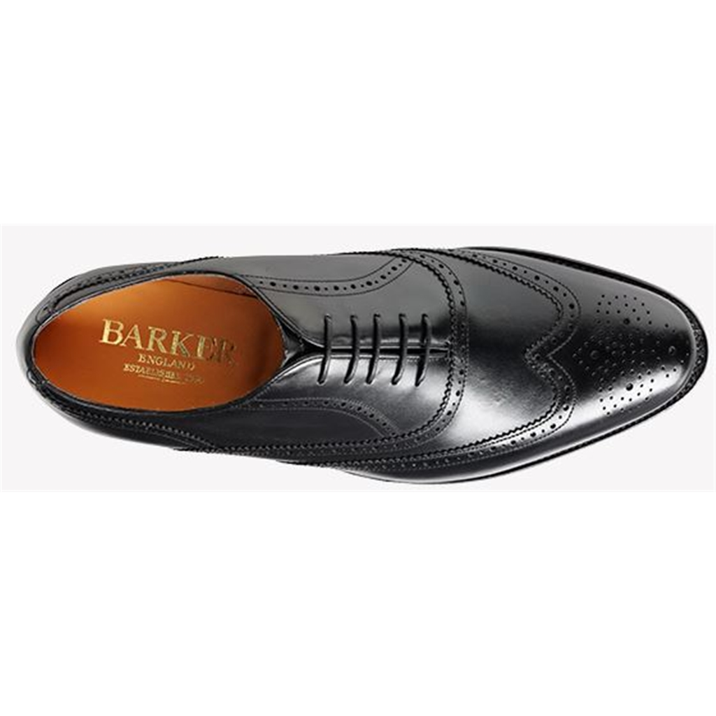 Barker Newport - Black Calf