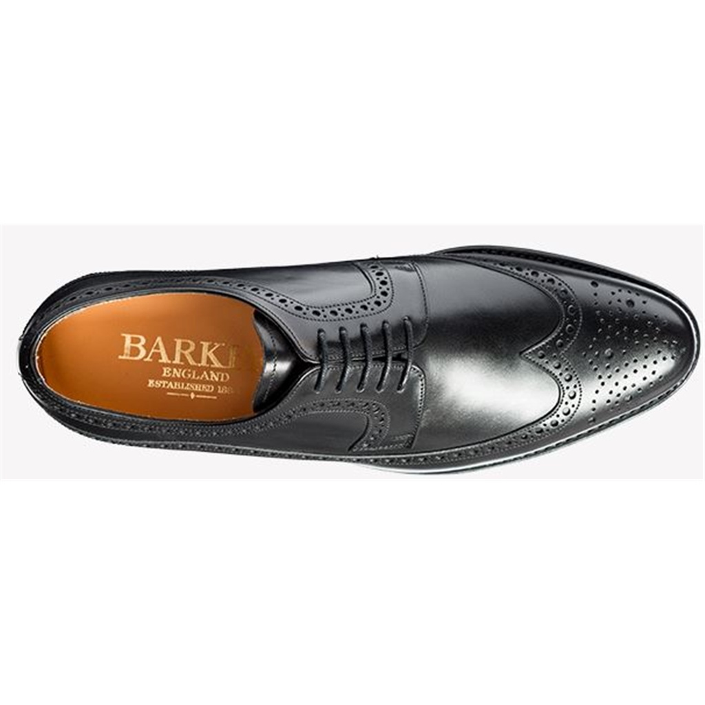 Barker Bath - Black Calf