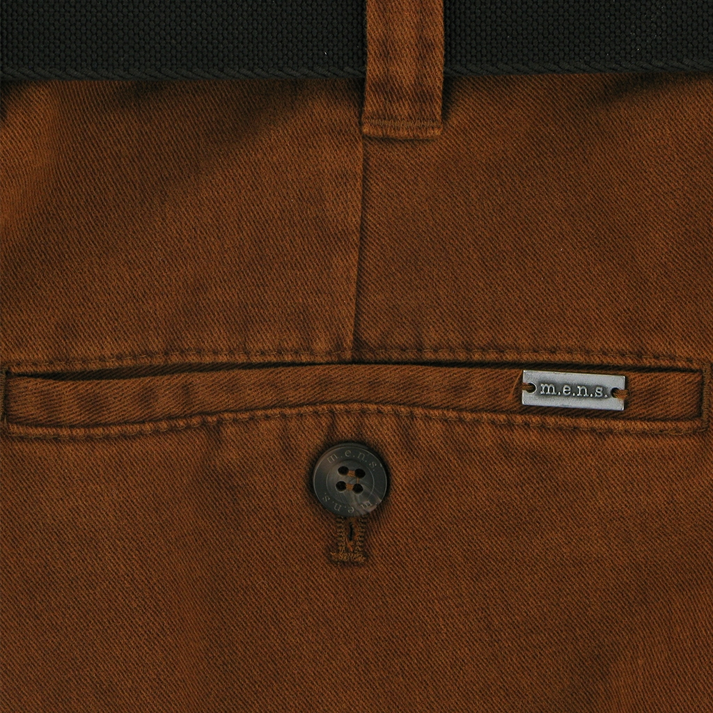 Autumn 2018 mens Luxury Cotton Chino - Rust