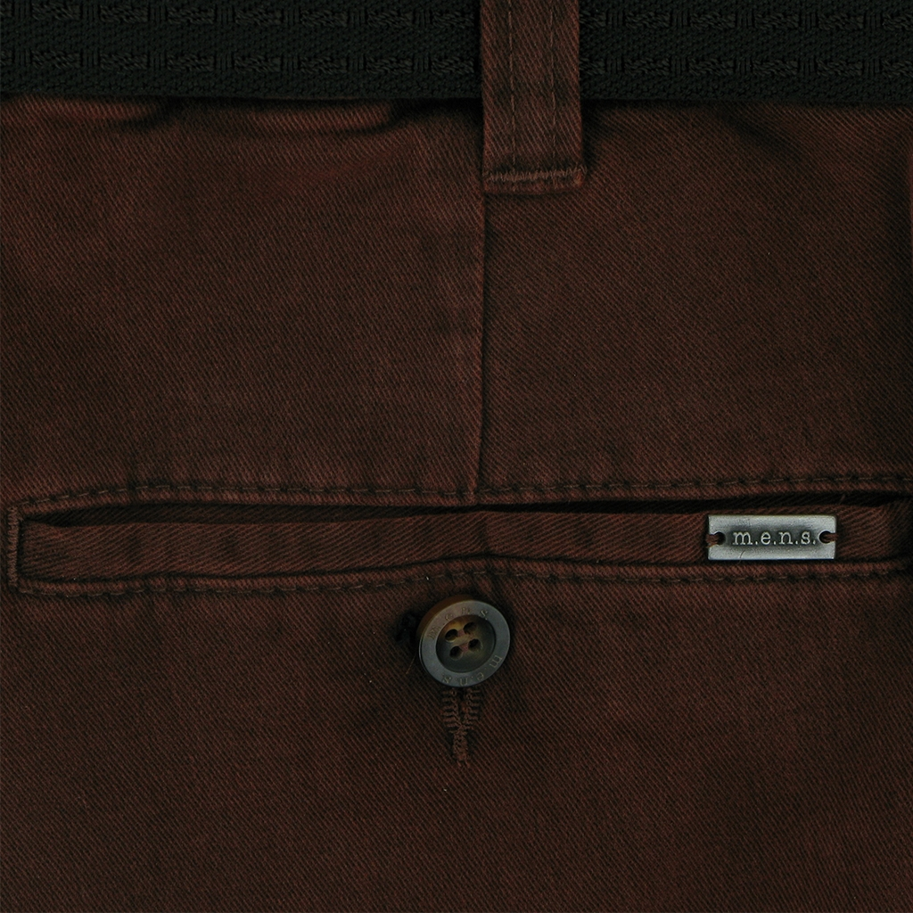 Autumn 2018 mens Luxury Cotton Chino - Brick