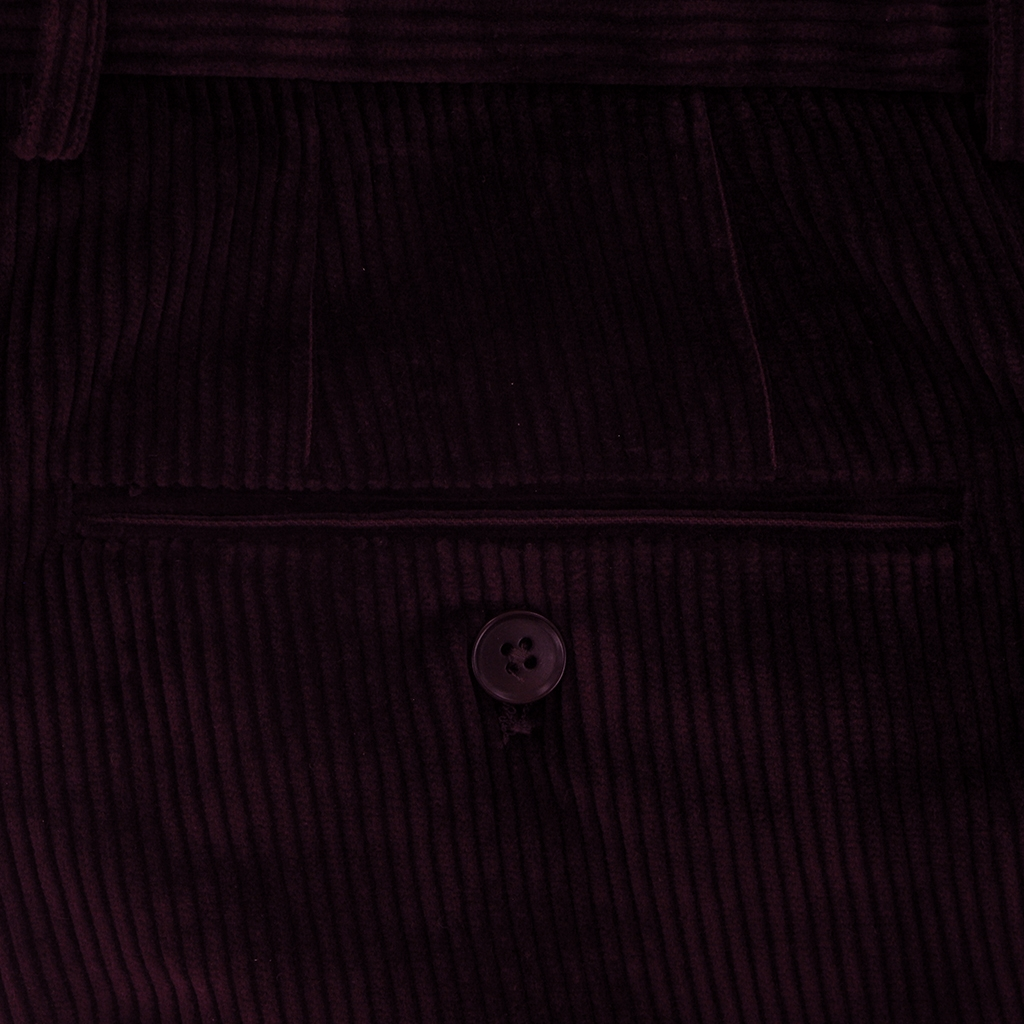 Autumn 2018 Gurteen Esquire Luxury Corduroy - Cordovan - Warwick 1212 052
