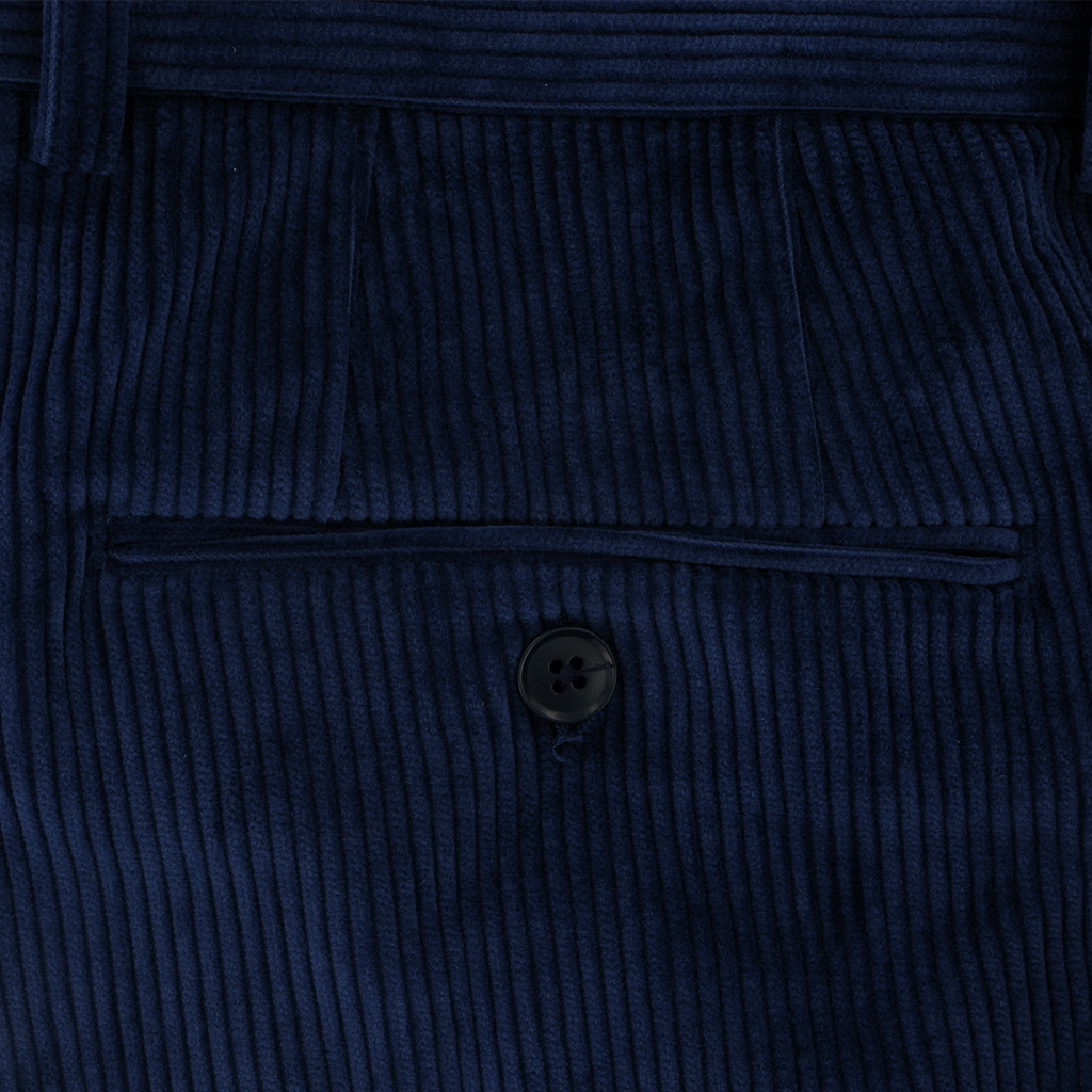 Gurteen Esquire Luxury Corduroy - Royal - Warwick 1212 033