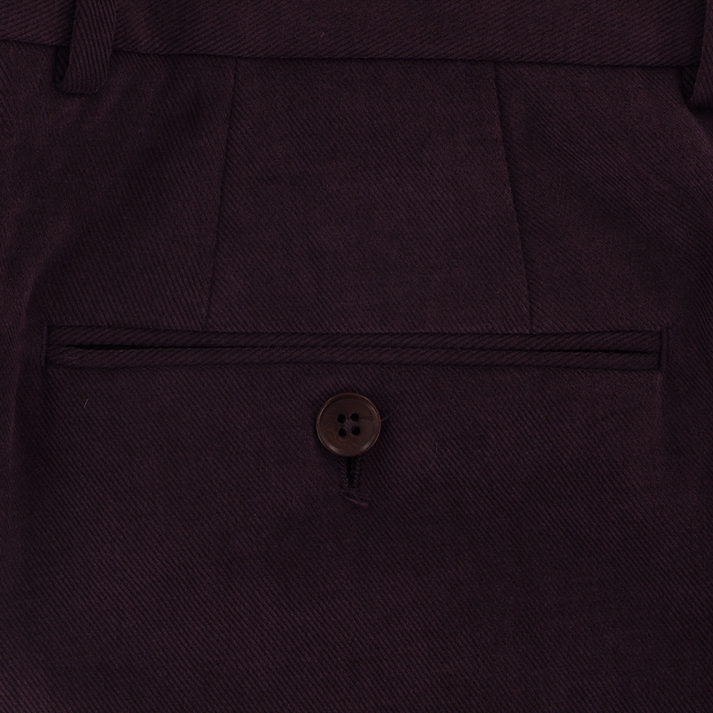 Gurteen Esquire Luxury Cotton - Plum - Kinross 1815 052