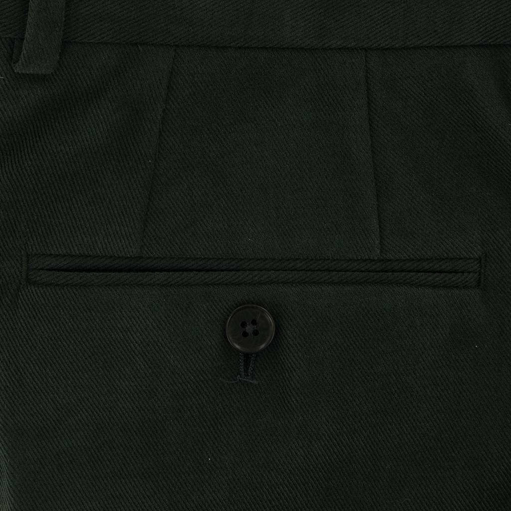 Autumn 2018 Gurteen Esquire Luxury Cotton - Hunter Green - Kinross 1815 024