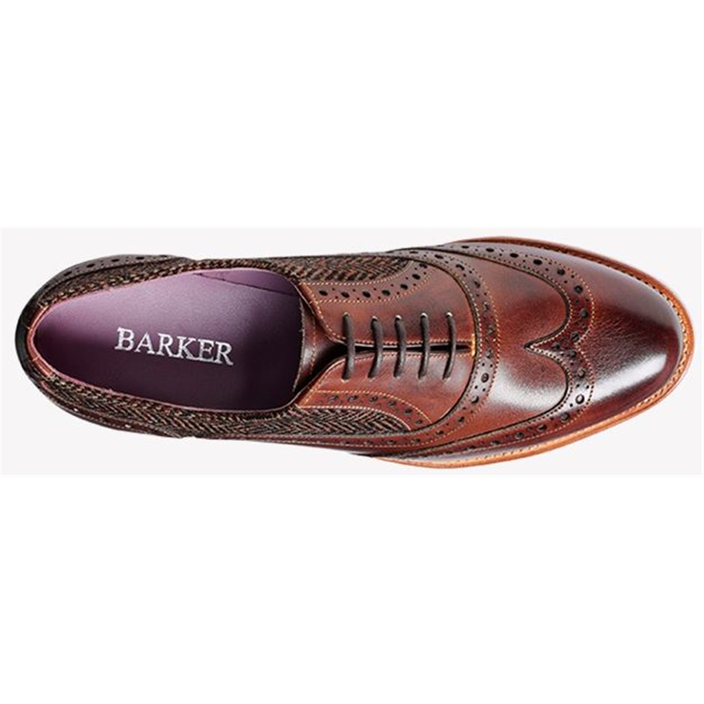 Barker Freya - Walnut / Brown Tweed
