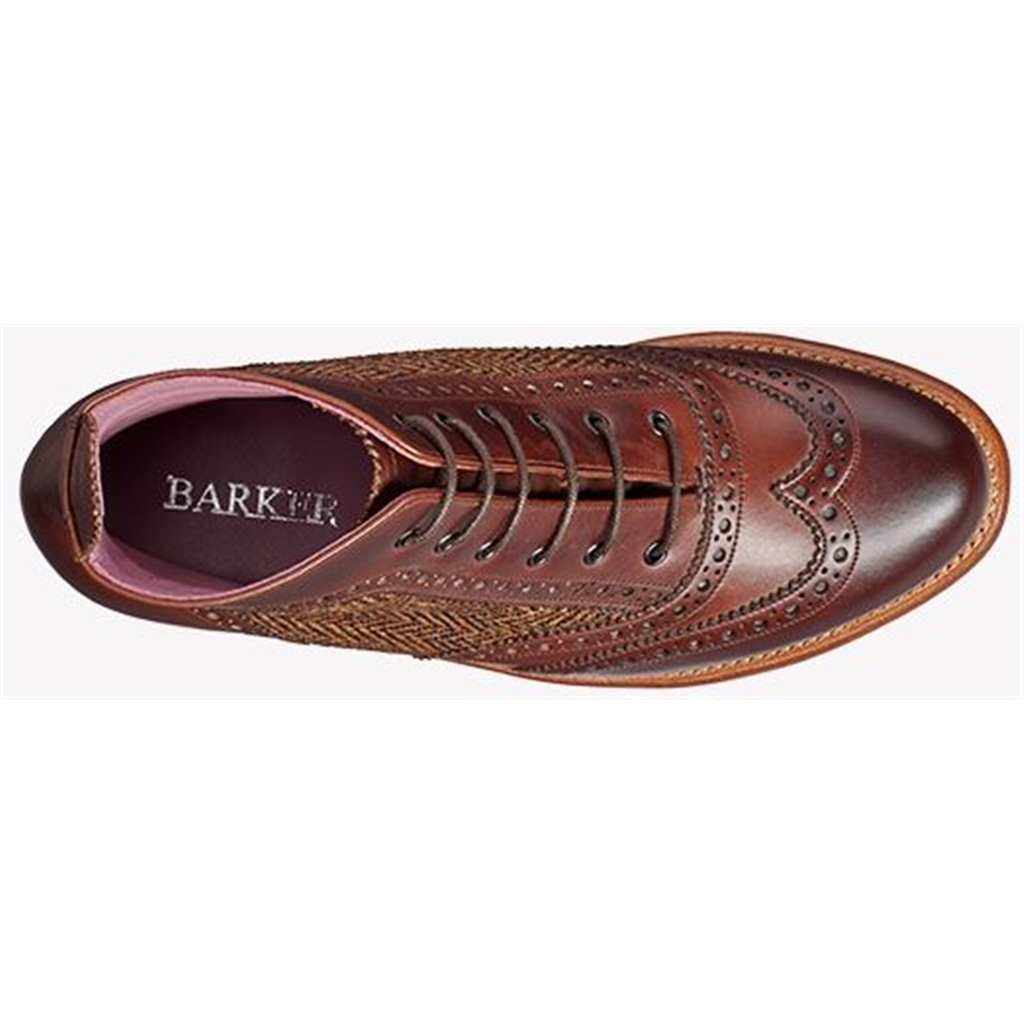 Barker Grace - Walnut Calf / Brown Tweed