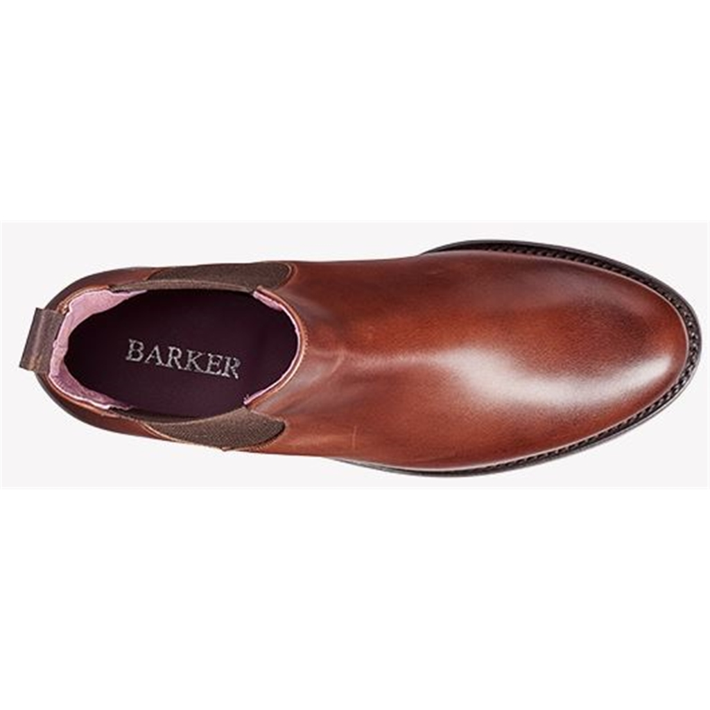 Barker Violet - Walnut Calf / Brown Elastic
