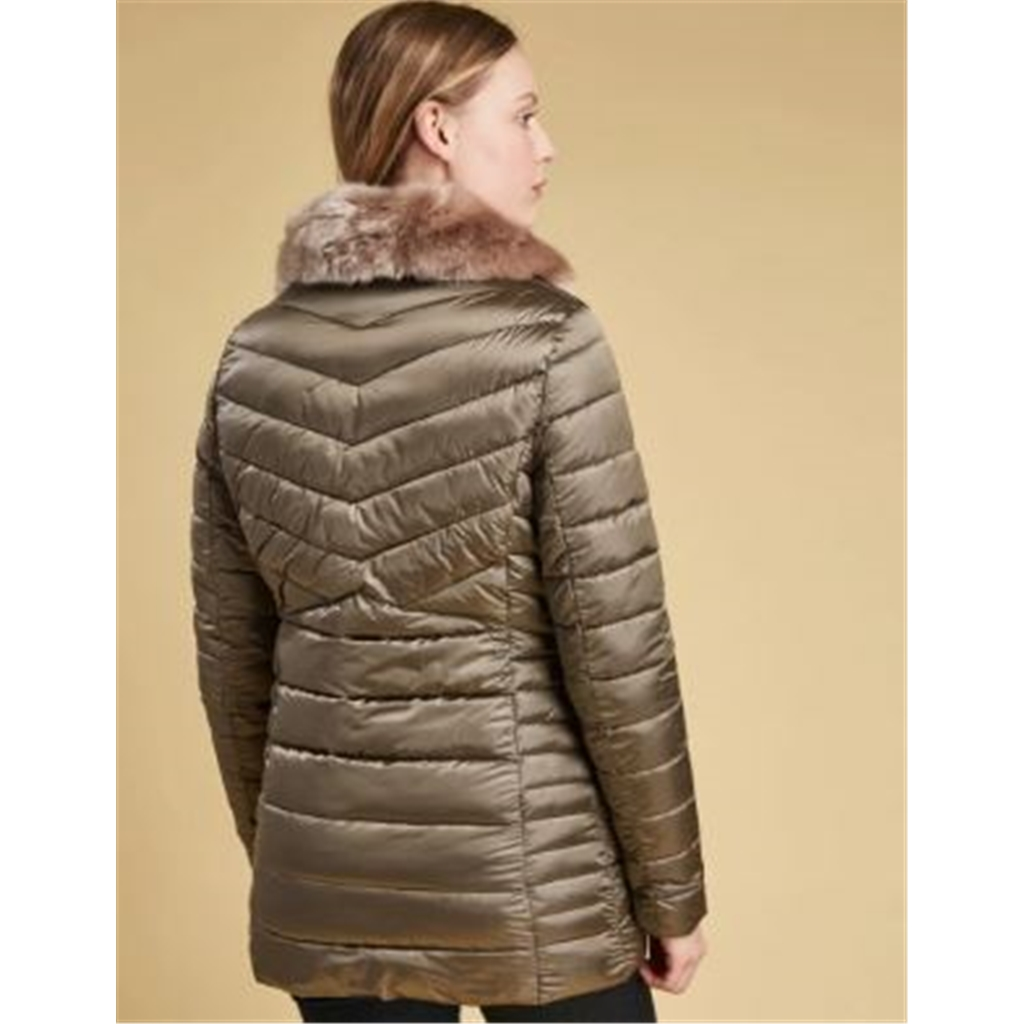 Autumn 2018 Barbour Lomond Quilted Jacket - Mink