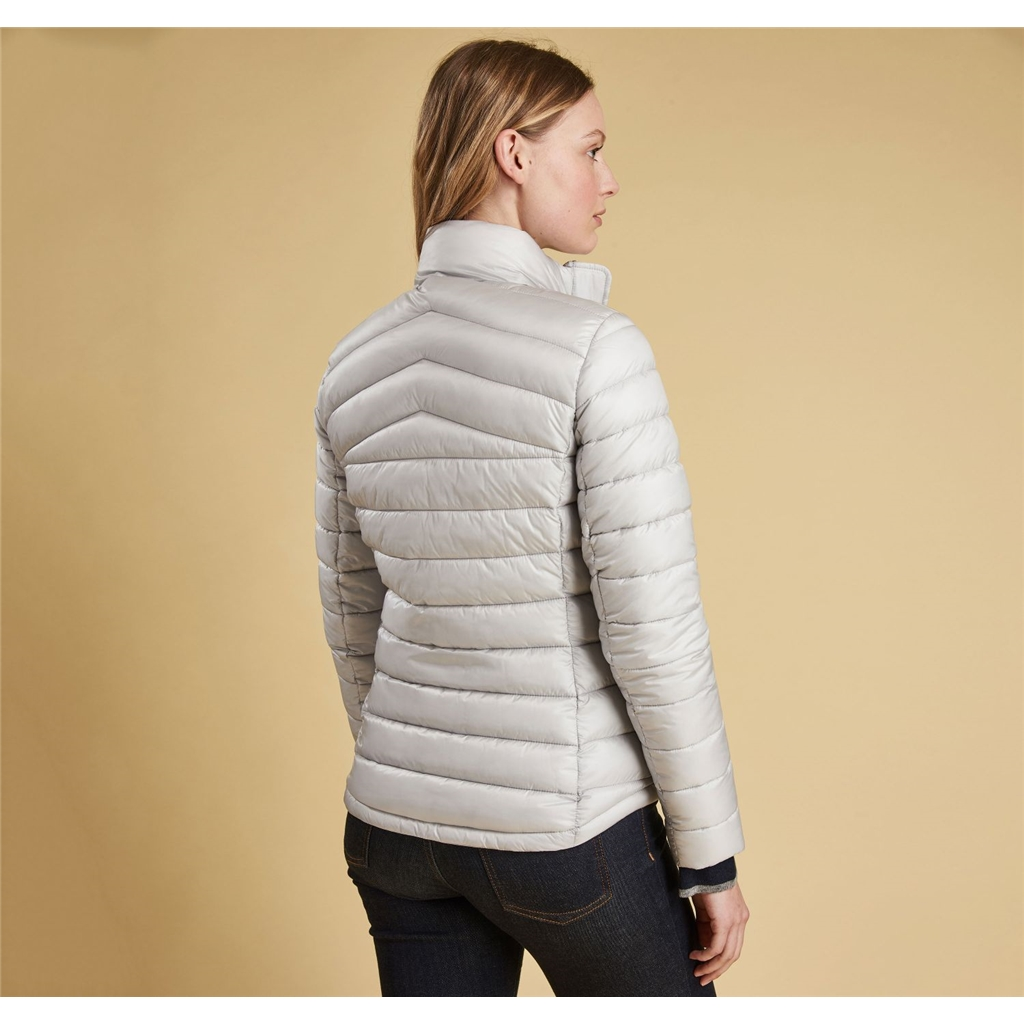 Autumn 2018 Barbour Vartersay Quilt - Ice White