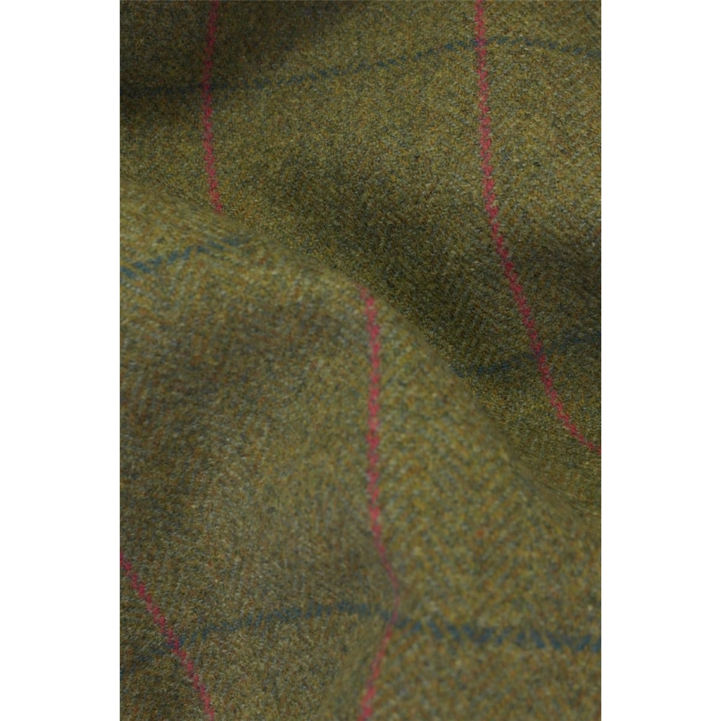 Alan Paine Ladies' Combrook Tweed Long Skirt - Juniper