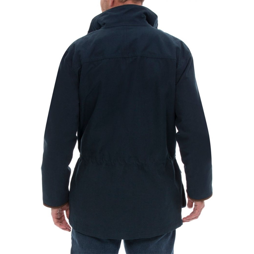 Alan Paine Country Collection - Berwick Men's Waterproof Coat - Dark Navy