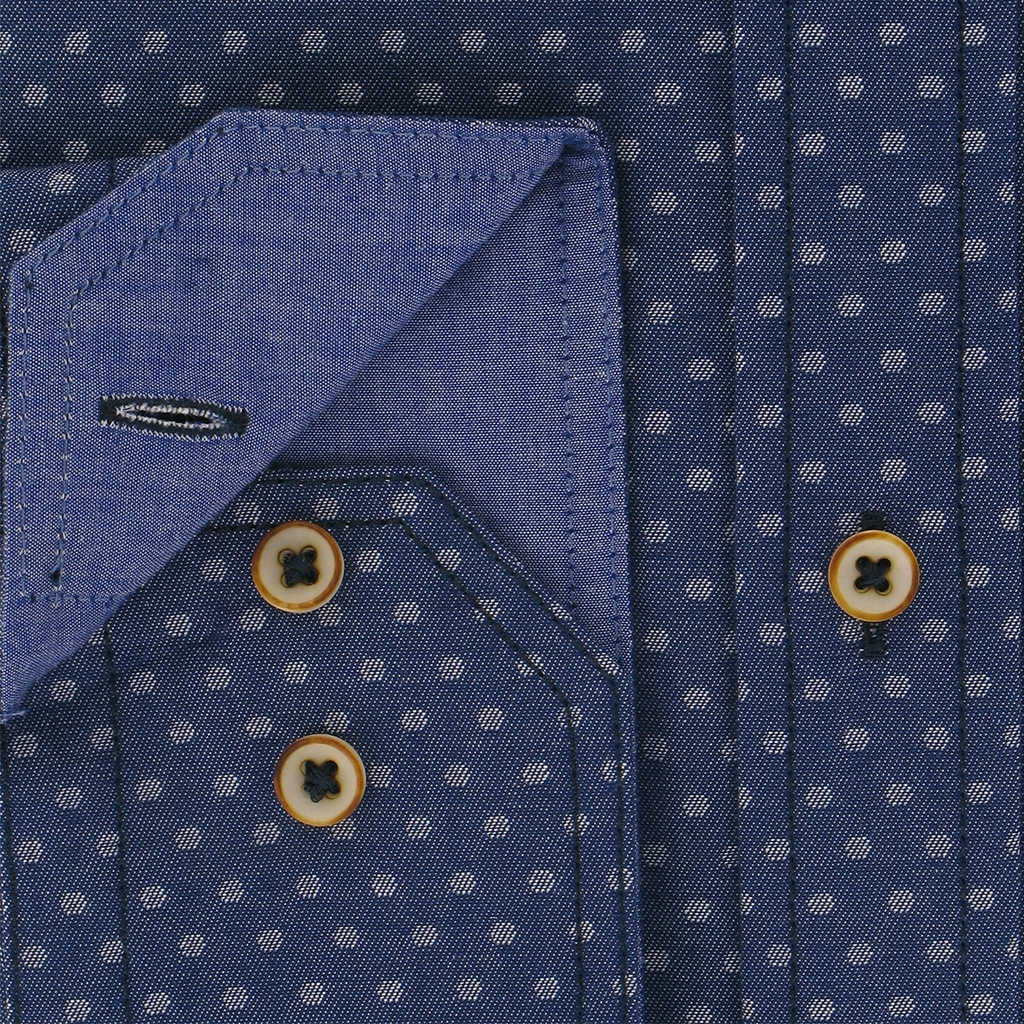 Autumn 2018 Giordano Navy Spot  Shirt