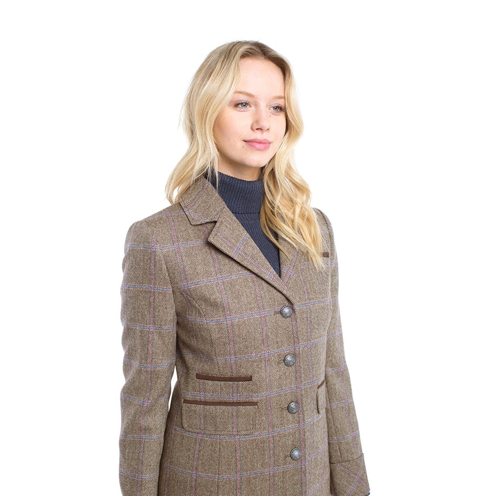 Autumn 2018 Dubarry of Ireland Blackthorn Tweed Coat - Woodrose
